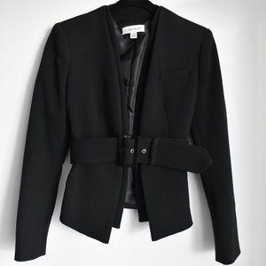 Calvin Klein belted blazer